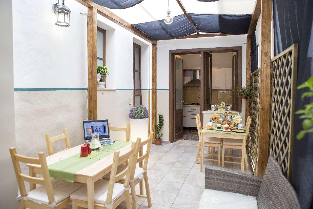 Colazione Siciliana con Granita Villa Teresa B&B Santa Teresa di Riva BANDIERA BLU 2017