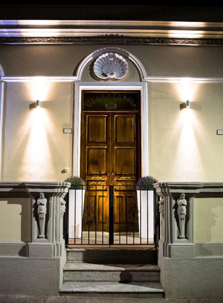 Porta Ingresso Villa Teresa B&B Santa Teresa di Riva BANDIERA BLU 2017